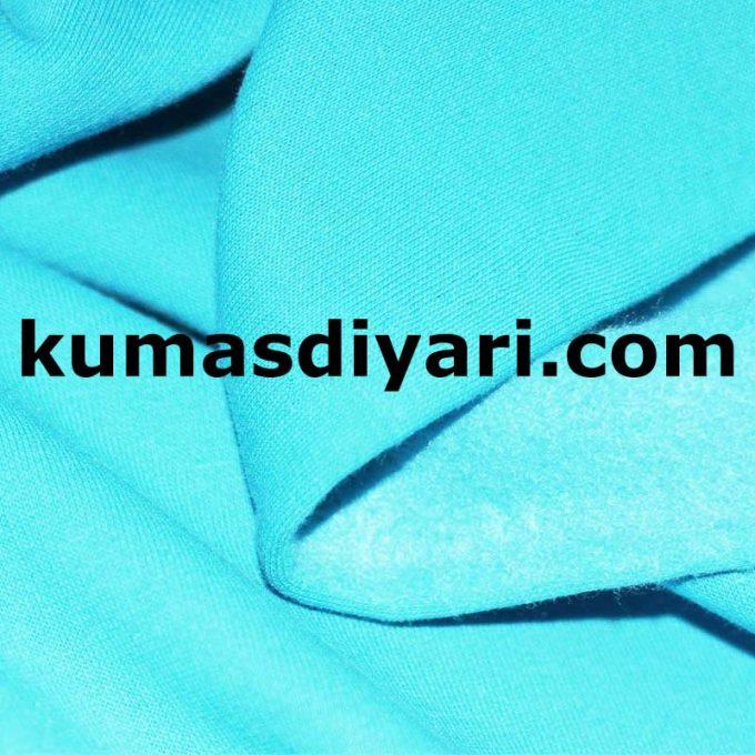 turkuaz üç iplik kumaş