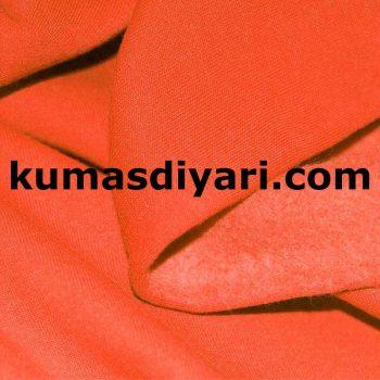 turuncu üç iplik kumaş