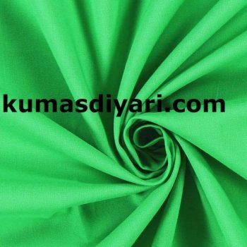 yeşil terikoton kumaş