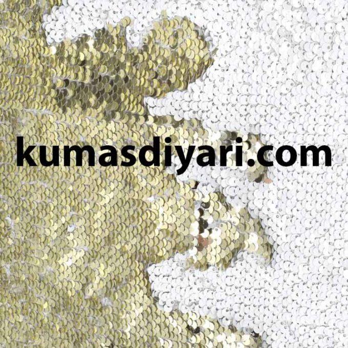 beyaz altın çift taraflı payet kumaş çeşitleri ve modelleri kumasdiyari.com da