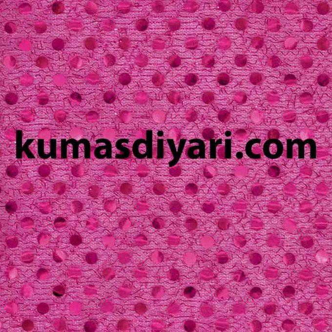 fuşya noktalı payet kumaş çeşitleri ve modelleri kumasdiyari.com da