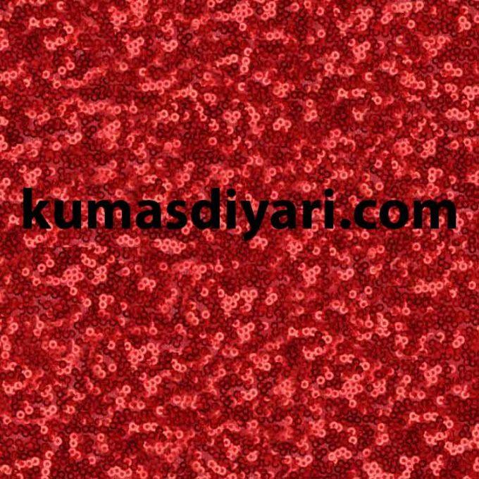 kırmızı karışık payetli kumaş çeşitleri ve modelleri kumasdiyari.com da