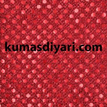 kırmızı noktalı payet kumaş çeşitleri ve modelleri kumasdiyari.com da
