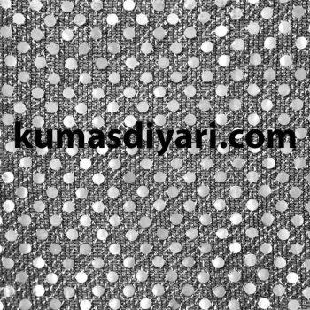koyu gümüş noktalı payet kumaş çeşitleri ve modelleri kumasdiyari.com da