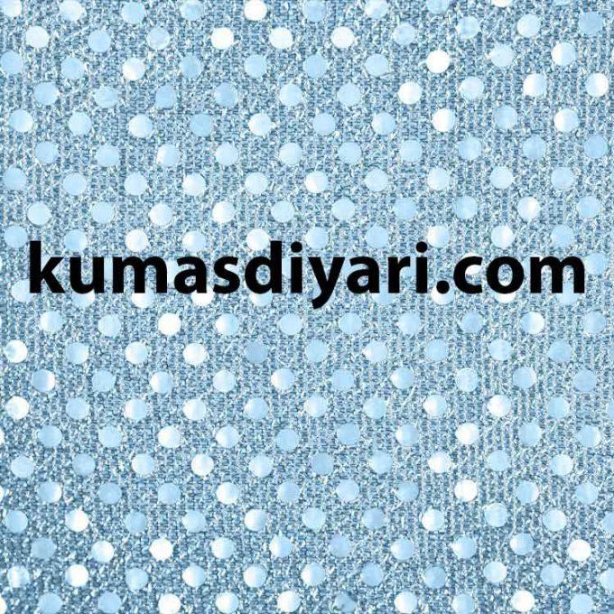 mavi noktalı payet kumaş çeşitleri ve modelleri kumasdiyari.com da