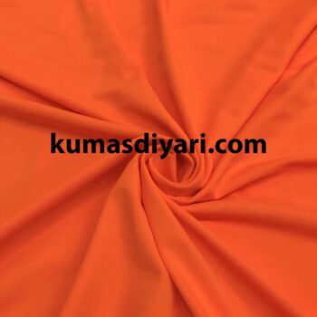 neon turuncu mayoluk kumaş çeşitleri ve modelleri kumasdiyari.com da