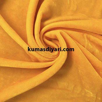 sarı likrasız işlemelik kaftanlık kadife kumaş çeşitleri ve modelleri kumasdiyari.com da