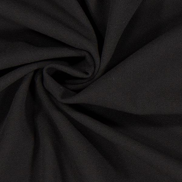 siyah krep kumaş