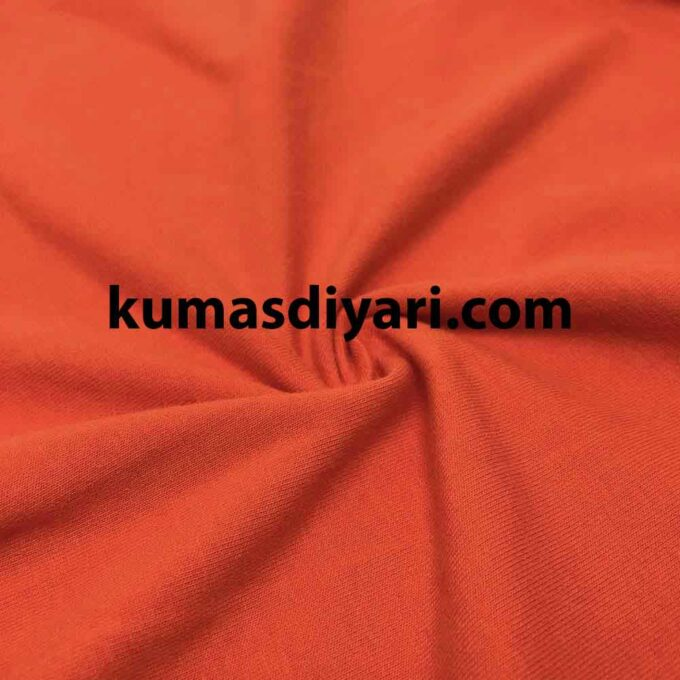 turuncu likralı süprem kumaş çeşitleri ve modelleri kumasdiyari.com da